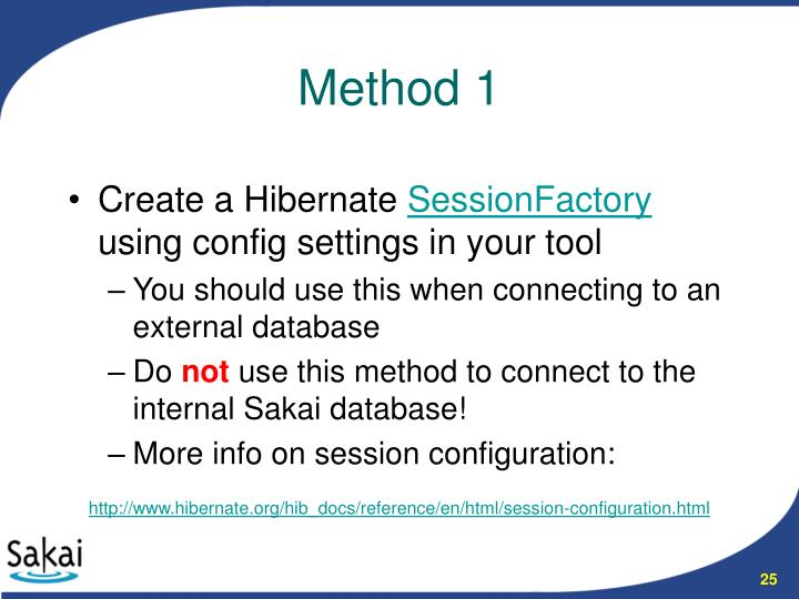 Create a Hibernate