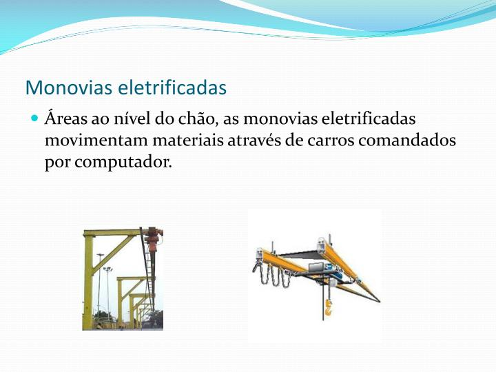 Monovias eletrificadas