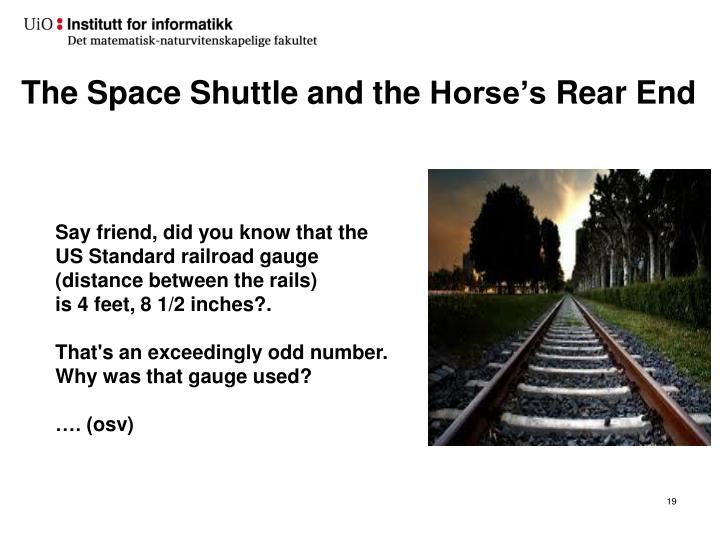 The Space Shuttle and