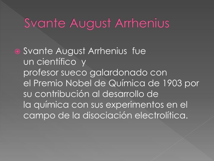 Svante august arrhenius1