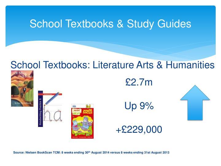 School Textbooks & Study Guides