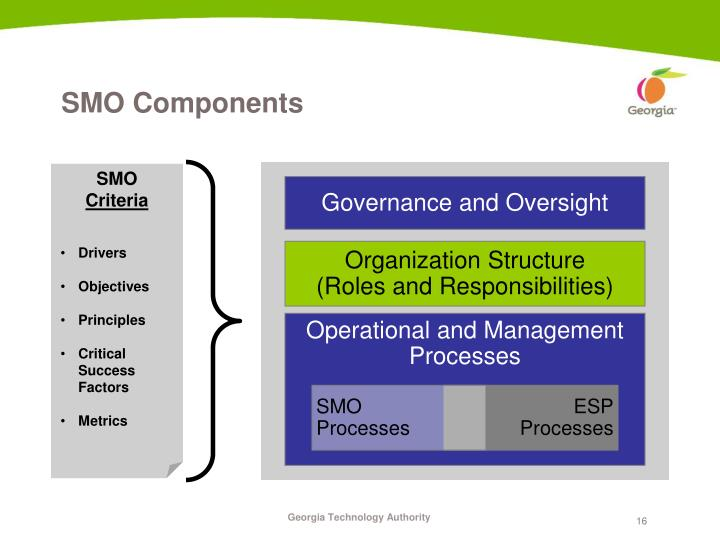 Governance and Oversight