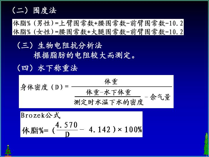 (二)围度法