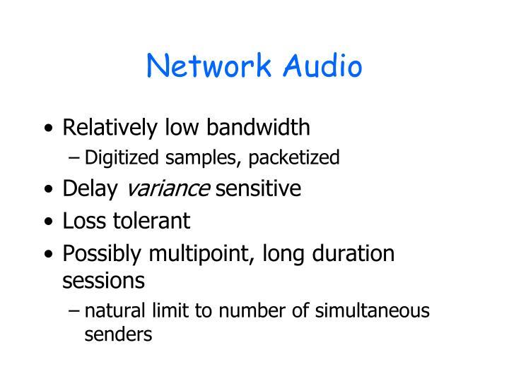 Network Audio