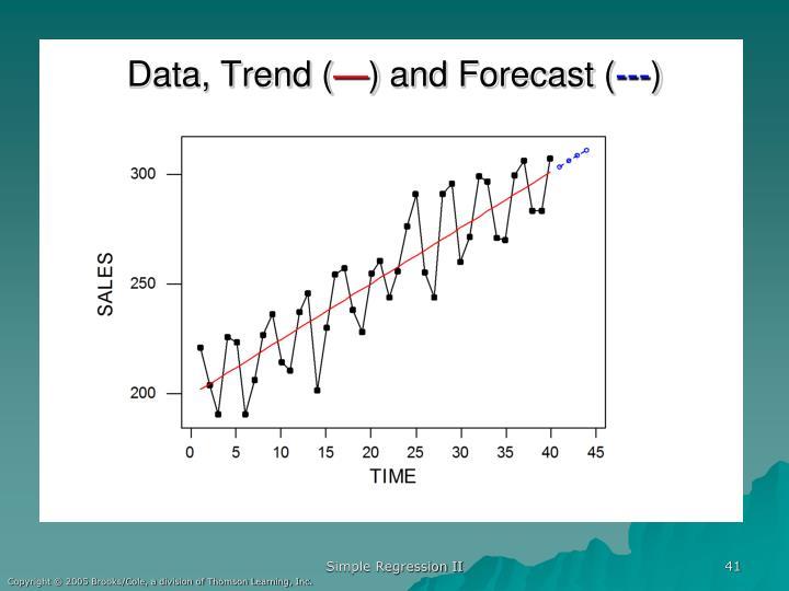 Data, Trend (
