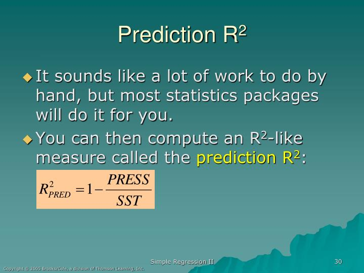 Prediction R