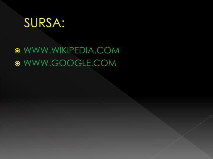 SURSA: