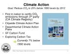 climate action goal reduce co 2 to 20 below 1990 levels by 2012