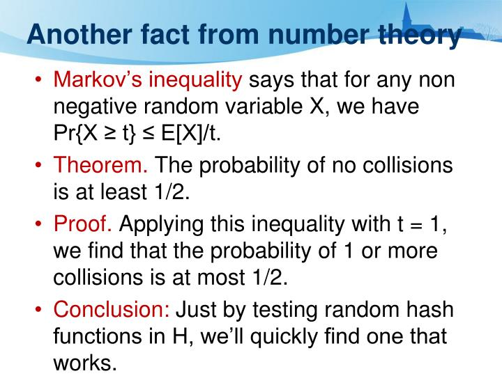 Another fact from number theory