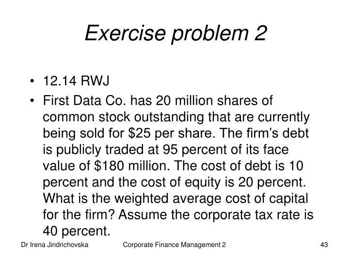 Exercise problem 2