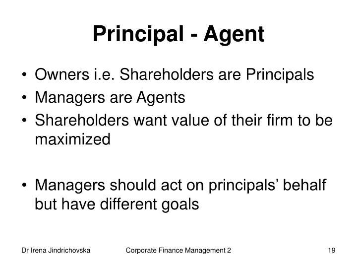 Principal - Agent