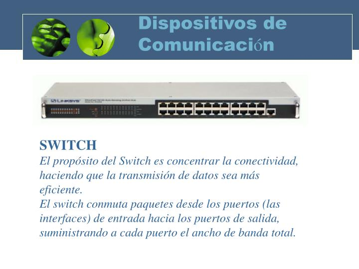 Dispositivos de comunicaci n