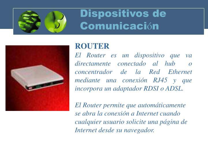 Dispositivos de Comunicaci