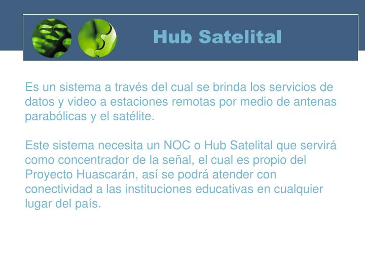 Hub Satelital