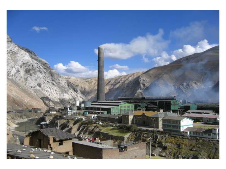 Dispersi n de contaminantes en zona andina caso de estudio