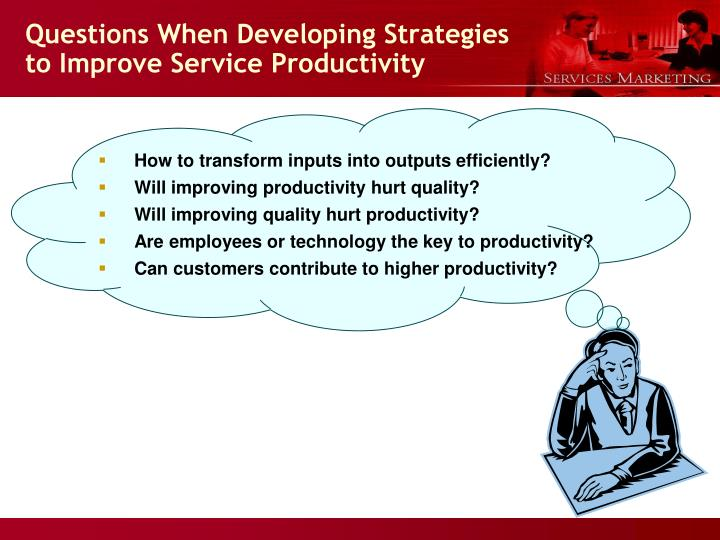 how to improve service quality from We offer a variety of tools, certifications and resources to help service quality professionals identify problems and improve processes for better service quality  use quality practices to: understand and improve operational processes identify problems quickly and systematically.