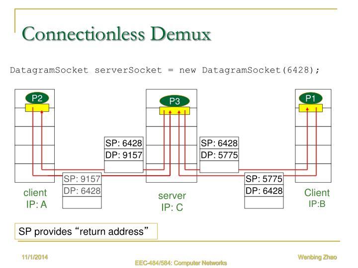 Connectionless Demux