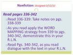 nonfiction assigned 2 12 12