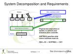 system decomposition and requirements1