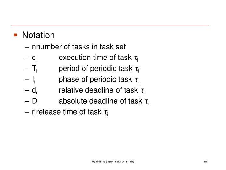 Notation