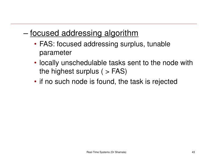 focused addressing algorithm