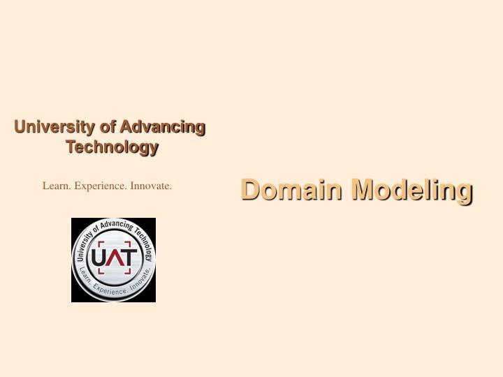 Domain Modeling