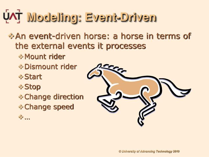 Modeling: Event-Driven