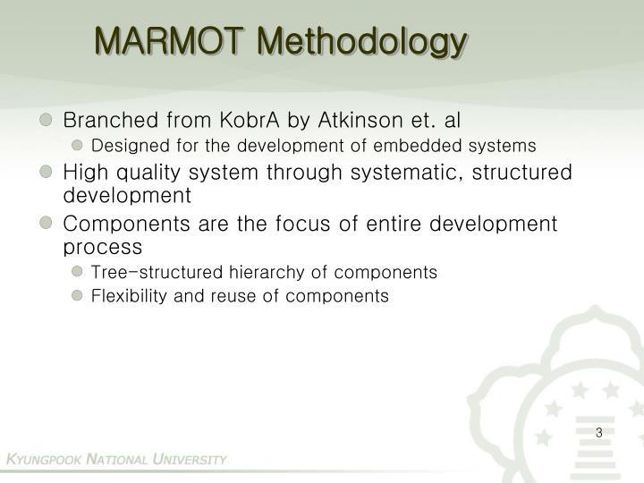Marmot methodology