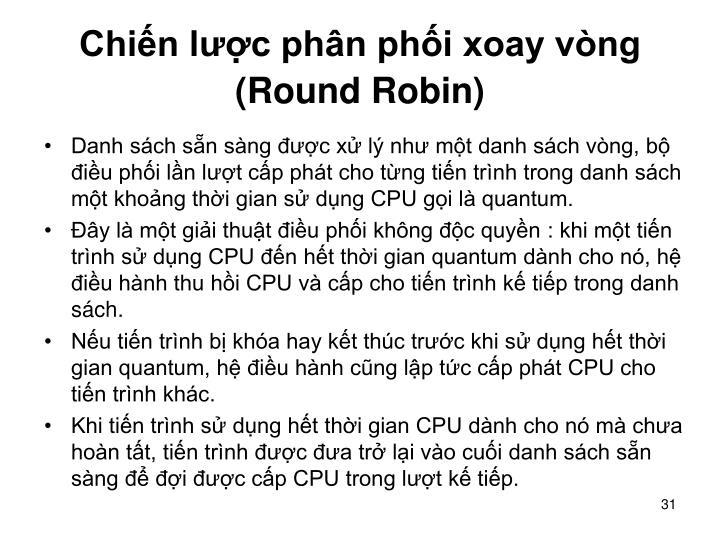 Chiến lược phân phối xoay vòng (Round Robin)