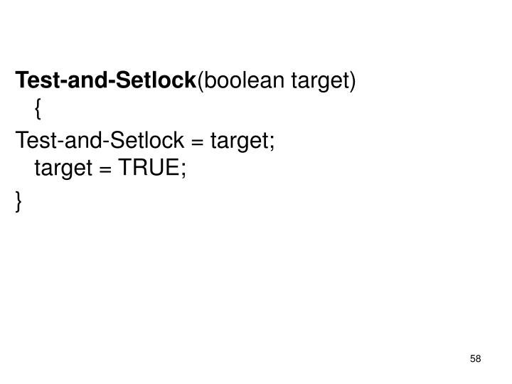 Test-and-Setlock