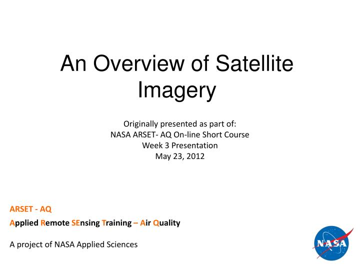 an overview of the technological advances of nasa