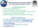nasa s mn space grant consortium mnsgc community college quadcopter initiative