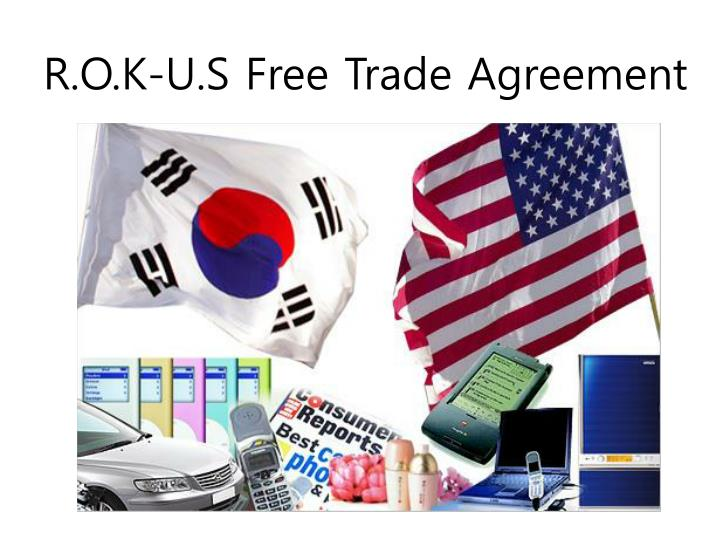 r o k u s free trade agreement n.