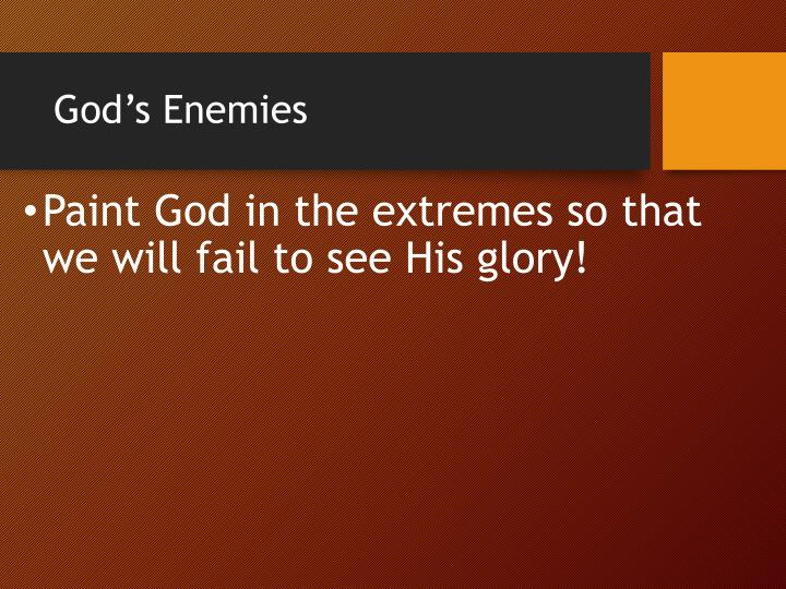 God's Enemies