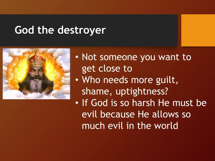 God the destroyer