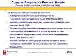 complex responsive process theorie stacey griffin en shaw 2000 stacey 2007