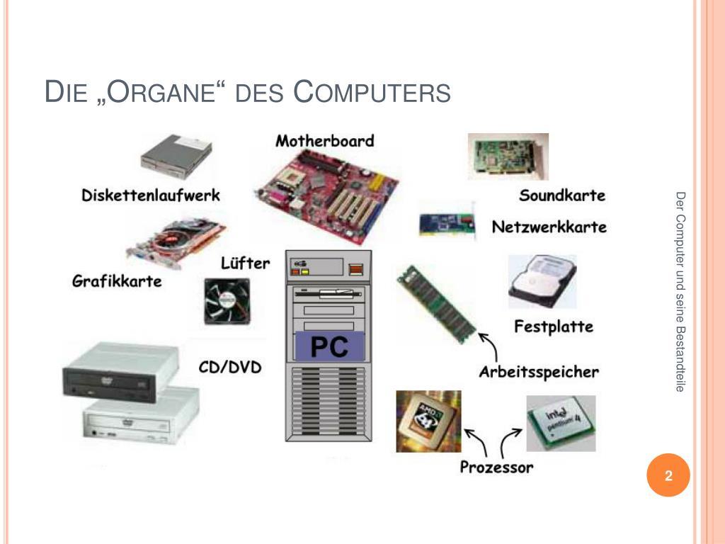 PPT   Das Innenleben des Computers PowerPoint Presentation, free ...