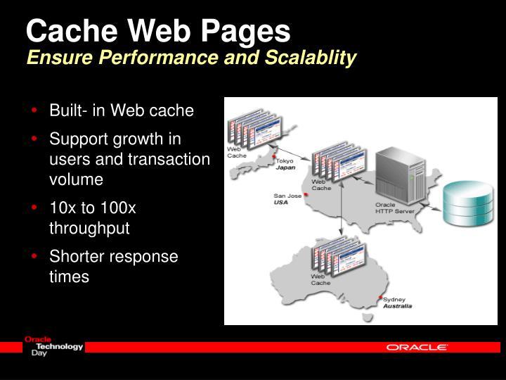 Cache Web Pages