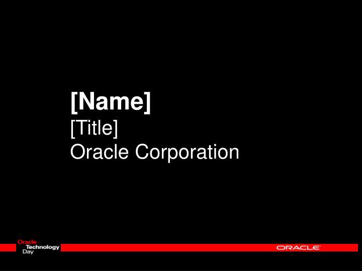 [Name]