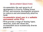 d evelopment objectives1