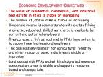 economic development objectives1