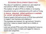 economic development objectives4