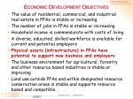 economic development objectives5
