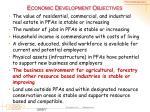 economic development objectives6