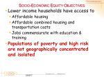 socio economic equity objectives2