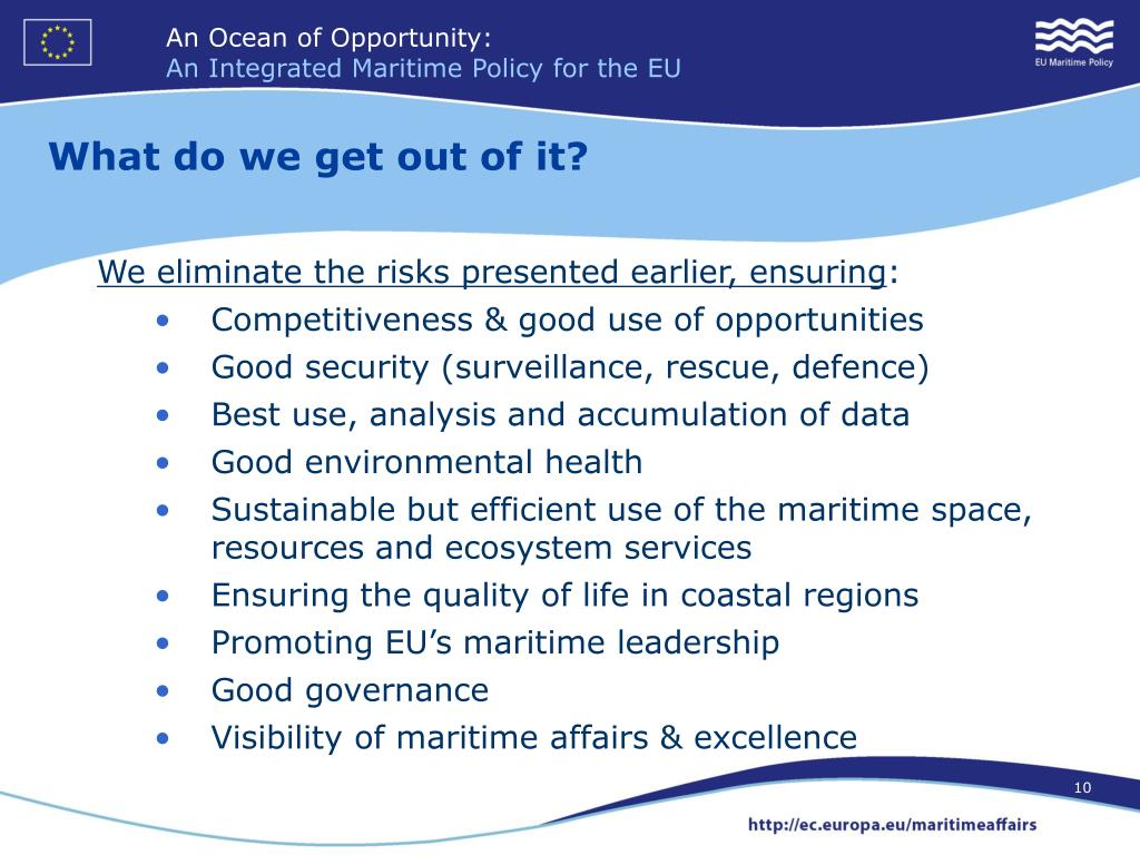 ca854887d PPT - EU's Integrated Maritime Policy PowerPoint Presentation - ID ...