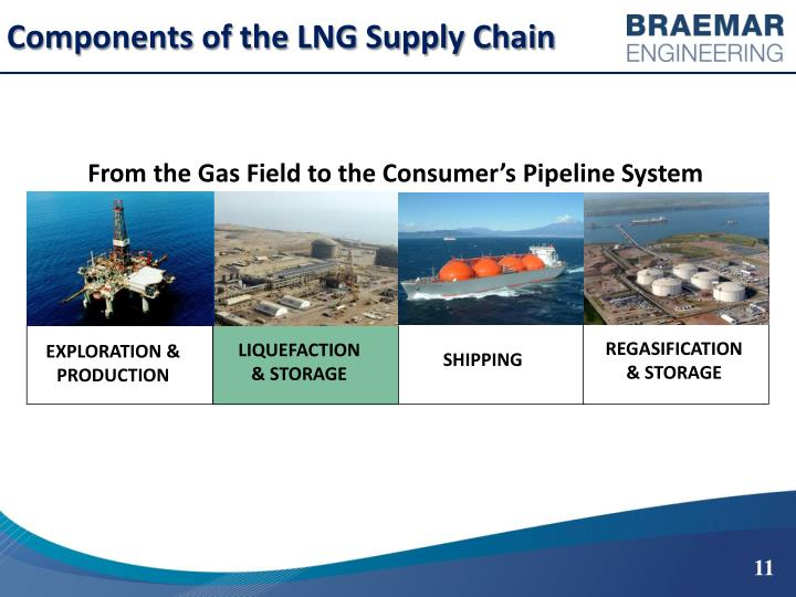 Components of the LNG Supply Chain