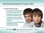 individualized education program iep1