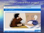 infection control pilot project