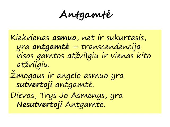 Antgamtė
